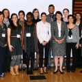 Seymour Schulich Graduate Award recipients with Dean Sioban Nelson (2012)