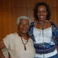Lillie Johnson and author Dr. Karen Flynn