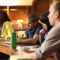 International Students Studying