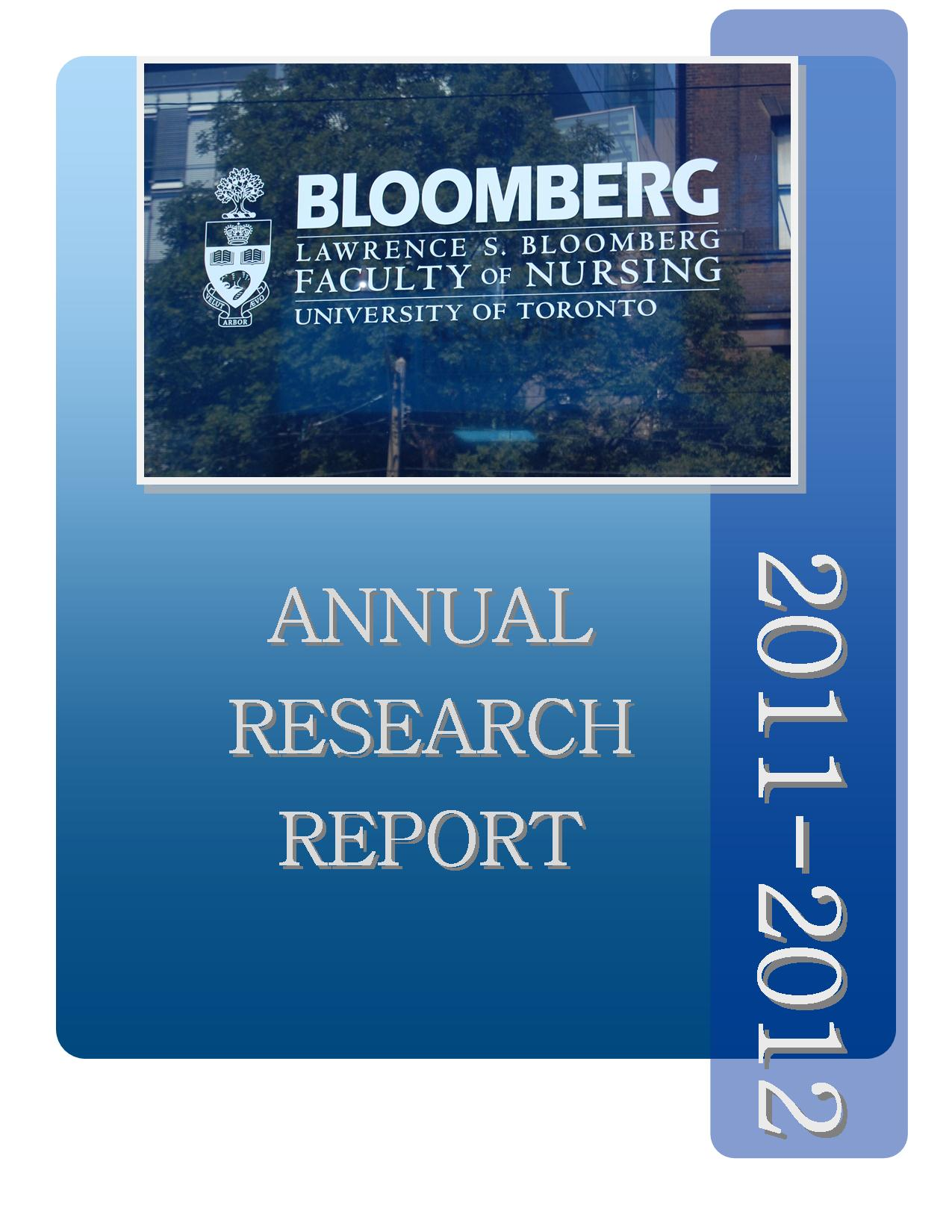 2011-2012 Research Report