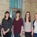 (l to r Tracy Dowds, Jane Cipollone, Elisa Simpson, Alissa Rowe and Ashley Acott)