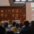 Amy Bender speaks at the Global Health Symposium 2013