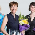 Photo of winners, left to right. Leslee Thompson, Janet Beed and Melinda Wall