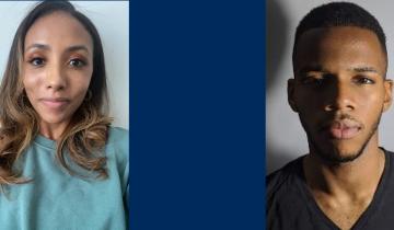 Profile of Alyann Hookim-baker and Chijindu Okoro